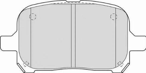 Ferodo FDB1437 - Kit de plaquettes de frein, frein à disque www.widencarpieces.com