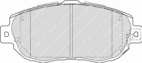 Ferodo FDB1564 - Kit de plaquettes de frein, frein à disque www.widencarpieces.com