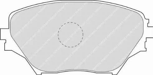 Ferodo FDB1514 - Kit de plaquettes de frein, frein à disque www.widencarpieces.com