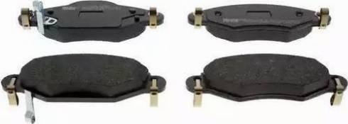 Ferodo FDB1513 - Kit de plaquettes de frein, frein à disque www.widencarpieces.com