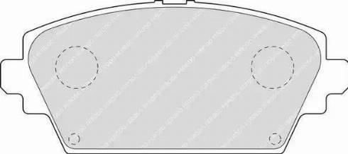 Ferodo FDB1580 - Kit de plaquettes de frein, frein à disque www.widencarpieces.com