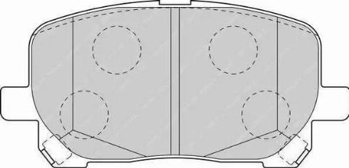 Ferodo FDB1529 - Kit de plaquettes de frein, frein à disque www.widencarpieces.com