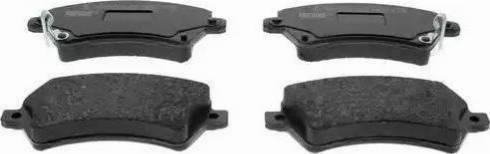 Ferodo FDB1573 - Kit de plaquettes de frein, frein à disque www.widencarpieces.com