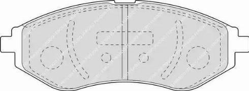 Ferodo FDB1699 - Kit de plaquettes de frein, frein à disque www.widencarpieces.com