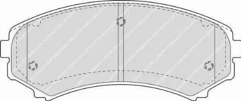 Ferodo FDB1603 - Kit de plaquettes de frein, frein à disque www.widencarpieces.com