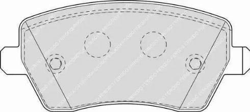 Ferodo FDB1617 - Kit de plaquettes de frein, frein à disque www.widencarpieces.com