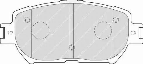 Ferodo FDB1620 - Kit de plaquettes de frein, frein à disque www.widencarpieces.com