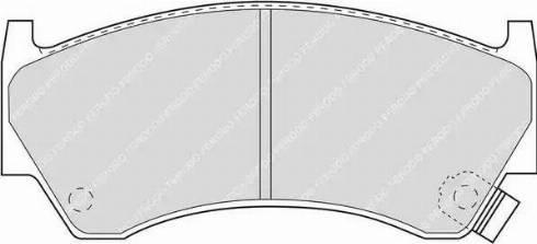Ferodo FDB1091 - Kit de plaquettes de frein, frein à disque www.widencarpieces.com