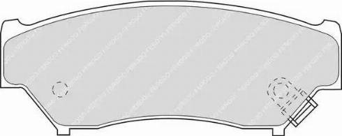 Ferodo FDB1020 - Kit de plaquettes de frein, frein à disque www.widencarpieces.com