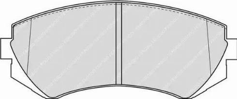 Ferodo FDB1166 - Kit de plaquettes de frein, frein à disque www.widencarpieces.com