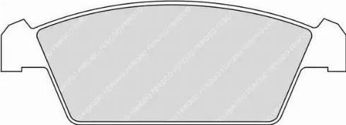 Ferodo FDB1108 - Kit de plaquettes de frein, frein à disque www.widencarpieces.com