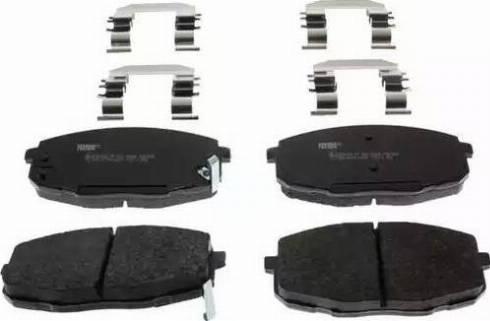 Ferodo FDB1869 - Kit de plaquettes de frein, frein à disque www.widencarpieces.com