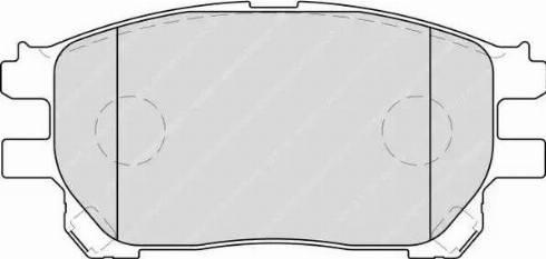 Ferodo FDB1868 - Kit de plaquettes de frein, frein à disque www.widencarpieces.com
