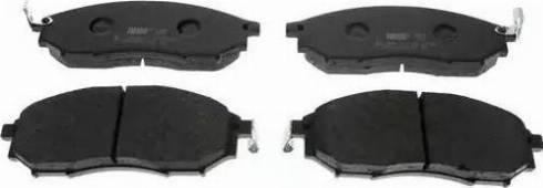 Ferodo FDB1881 - Kit de plaquettes de frein, frein à disque www.widencarpieces.com