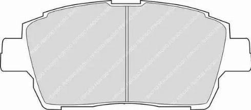 Ferodo FDB1392 - Kit de plaquettes de frein, frein à disque www.widencarpieces.com