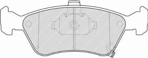 Ferodo FDB1321 - Kit de plaquettes de frein, frein à disque www.widencarpieces.com