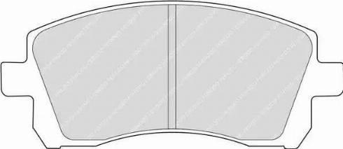 Ferodo FDB1327 - Kit de plaquettes de frein, frein à disque www.widencarpieces.com