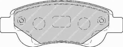 Ferodo FDB1790 - Kit de plaquettes de frein, frein à disque www.widencarpieces.com