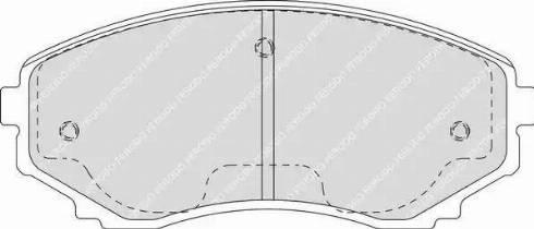 Ferodo FDB1757 - Kit de plaquettes de frein, frein à disque www.widencarpieces.com