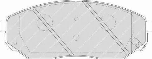 Ferodo FDB1735 - Kit de plaquettes de frein, frein à disque www.widencarpieces.com