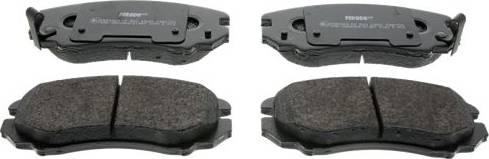 Ferodo FDB1733 - Kit de plaquettes de frein, frein à disque www.widencarpieces.com