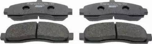 Ferodo FDB859 - Kit de plaquettes de frein, frein à disque www.widencarpieces.com