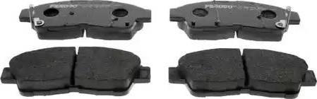 Ferodo FDB867 - Kit de plaquettes de frein, frein à disque www.widencarpieces.com