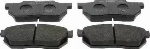 Ferodo FDB300 - Kit de plaquettes de frein, frein à disque www.widencarpieces.com