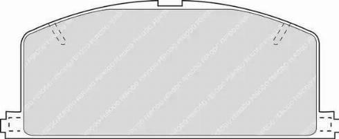 Ferodo FDB308 - Kit de plaquettes de frein, frein à disque www.widencarpieces.com