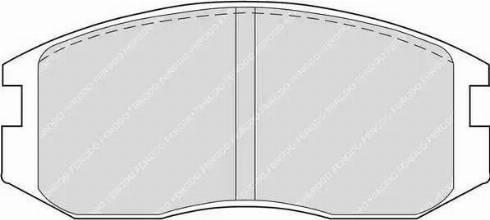 Ferodo FDB759 - Kit de plaquettes de frein, frein à disque www.widencarpieces.com