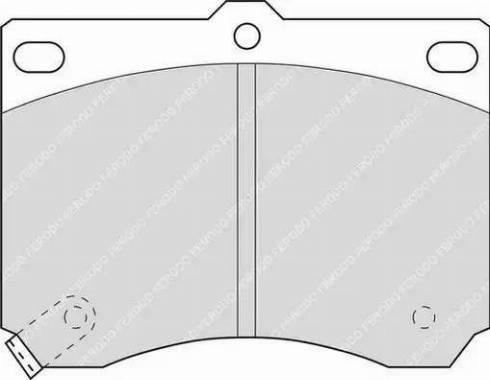 Ferodo FDB714 - Kit de plaquettes de frein, frein à disque www.widencarpieces.com