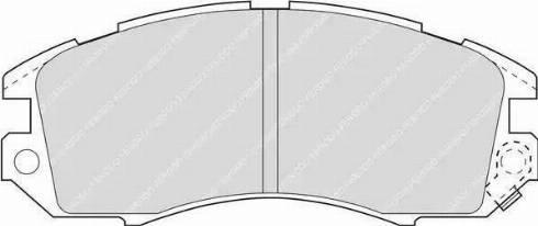 Ferodo FDB789 - Kit de plaquettes de frein, frein à disque www.widencarpieces.com