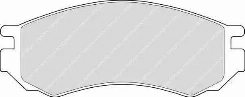 Ferodo FDB788 - Kit de plaquettes de frein, frein à disque www.widencarpieces.com