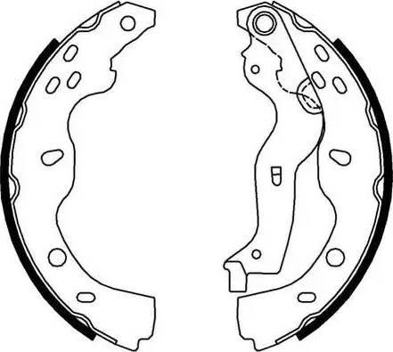 Ferodo FSB691 - Jeu de freins, freins à tambour www.widencarpieces.com
