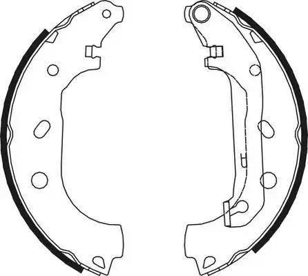 Ferodo FSB648 - Jeu de freins, freins à tambour www.widencarpieces.com