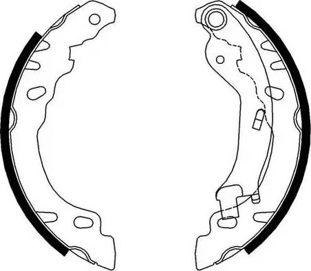Ferodo FSB688 - Jeu de freins, freins à tambour www.widencarpieces.com