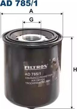 Filtron AD7851 - Dessicateur, système d'air comprimé www.widencarpieces.com