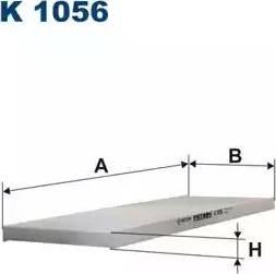 Filtron K1056 - Filtre, air de l'habitacle www.widencarpieces.com