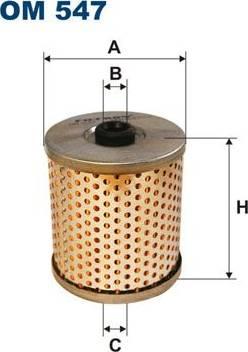 Filtron OM547 - Filtre, système hydraulique de travail www.widencarpieces.com