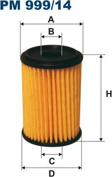Filtron PM99914 - Filtre à carburant www.widencarpieces.com