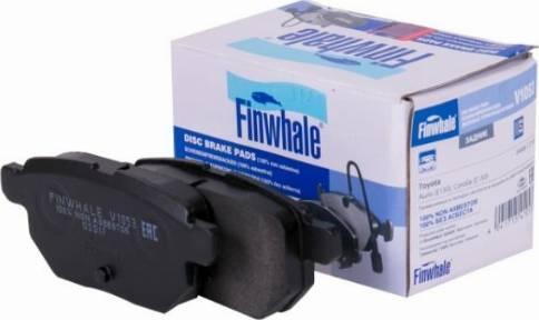 Finwhale V1053 - Mâchoire de frein www.widencarpieces.com