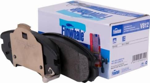 Finwhale V812 - Mâchoire de frein www.widencarpieces.com