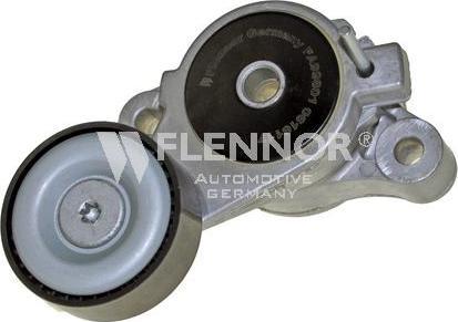 Flennor FA99801 - Poulie-tendeur, courroie trapézoïdale à nervures www.widencarpieces.com