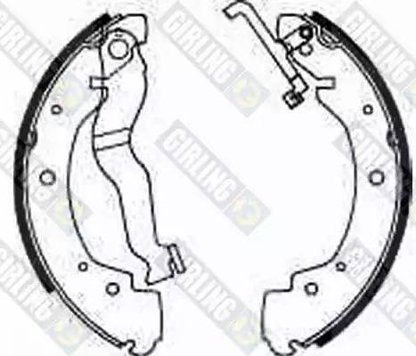 Girling 5185303 - Jeu de freins, freins à tambour www.widencarpieces.com