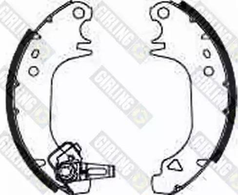 Girling 5183223 - Jeu de freins, freins à tambour www.widencarpieces.com
