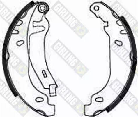 Girling 5182113 - Jeu de freins, freins à tambour www.widencarpieces.com