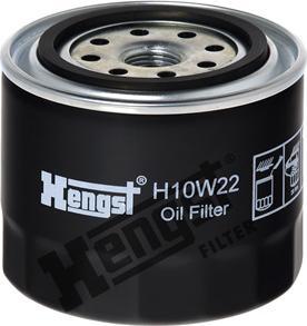 Hengst Filter H10W22 - Filtre hydraulique, boîte automatique www.widencarpieces.com