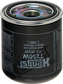 Hengst Filter T250W - Cartouche de dessicateur, système d'air comprimé www.widencarpieces.com