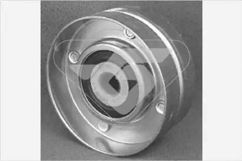 Hutchinson T0002 - Poulie renvoi/transmission, courroie trapézoïdale à nervures www.widencarpieces.com