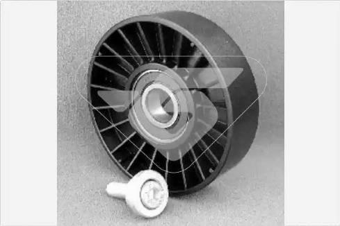 Hutchinson T0205 - Poulie renvoi/transmission, courroie trapézoïdale à nervures www.widencarpieces.com